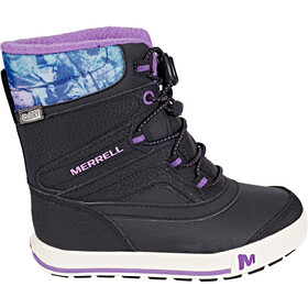 Merrell Snow Bank 2.0 Waterproof Saappaat Lapset, black/print/berry